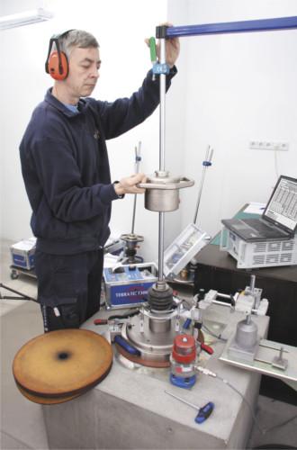 TERRATEST repair, service and calibration institute