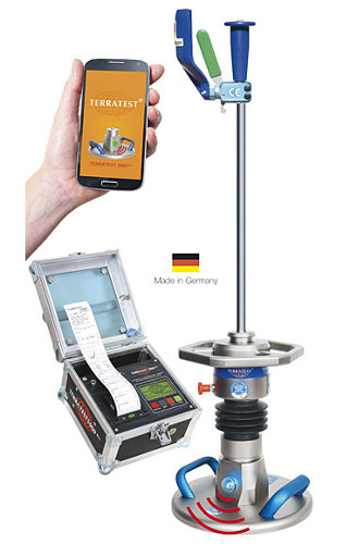 Dynamic load plate tester Bluetooth and Android app