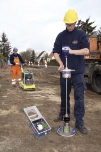 Среднетяжелый измеритель плотности грунта ТЕРРАТЕСТ
