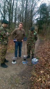 Light Drop Weight Tester TERRATEST 4000 USB Army Netherlands