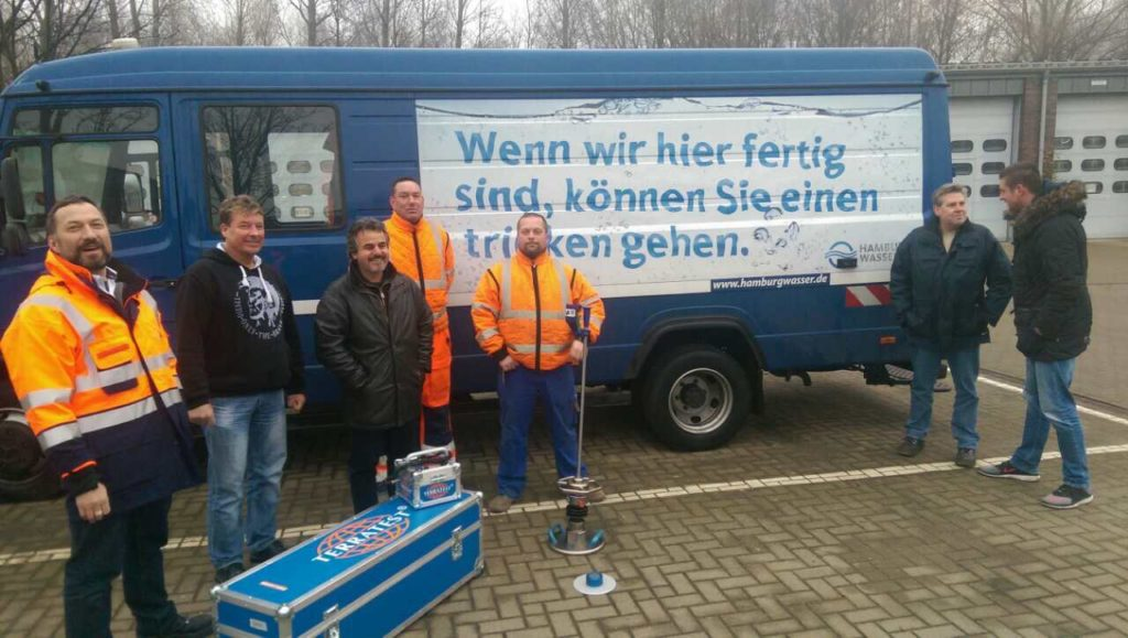 Light falling weight deflectometer delivered to Hamburg