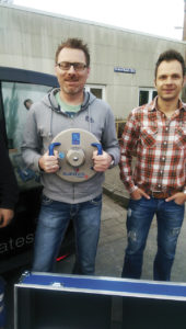 Light Weight Deflectometer delivered to Eurovia