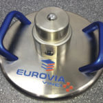 Eurovia branded Lastplatte - Light Weight Deflectometer