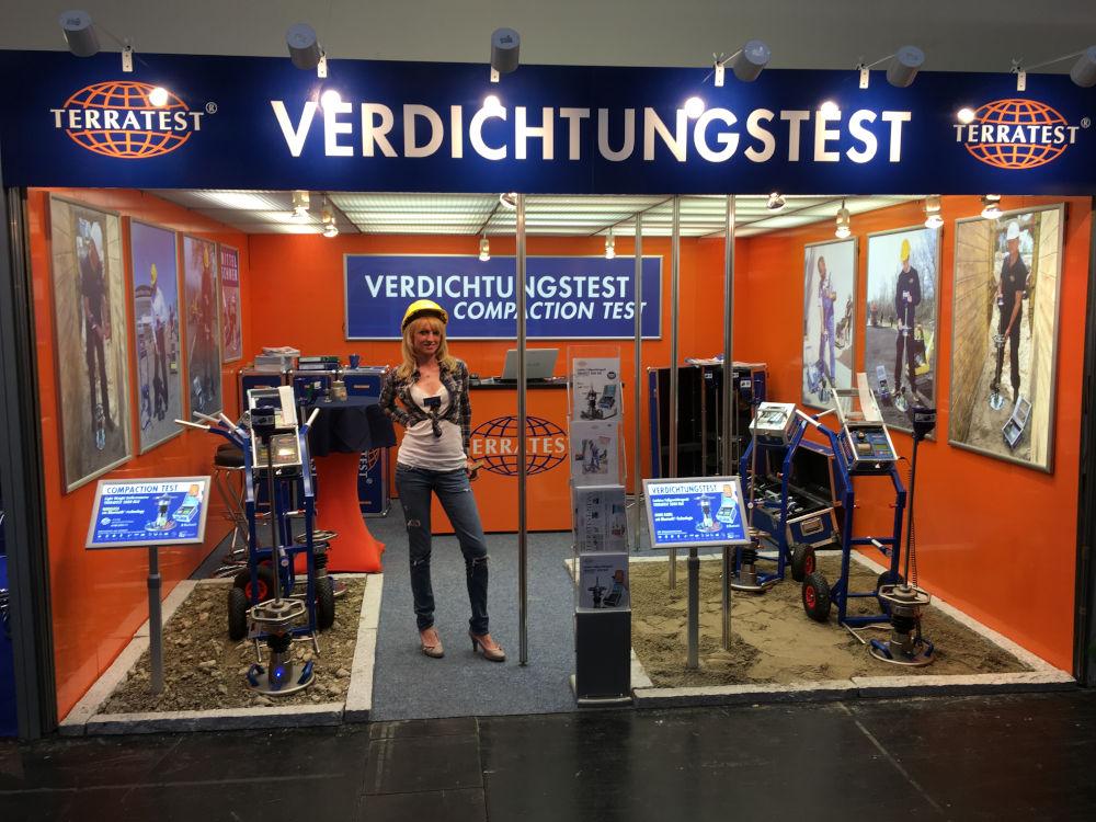 Bauma booth Light Weight Deflectometer