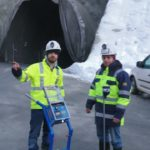 Light Weight Deflectometer at Padastertal tunnel construction